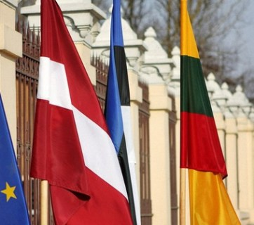 National flags of the Baltic countries (Image: nr2.com.ua)