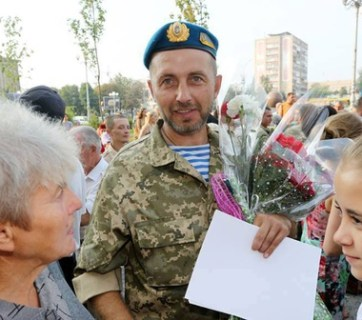 The Donbas war veteran