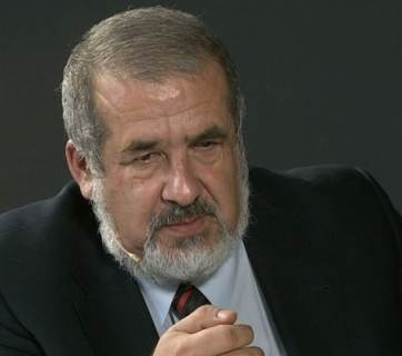 Refat Chubarov, head of the Crimean Tatar Mejlis