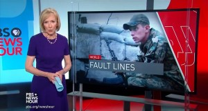 Judy Woodruff of PBS Newshour, introducing Nick Schifrin's Russo-Ukrainian war segment marked by mistranslations, factual mistakes and omissions (Image: video screen capture)
