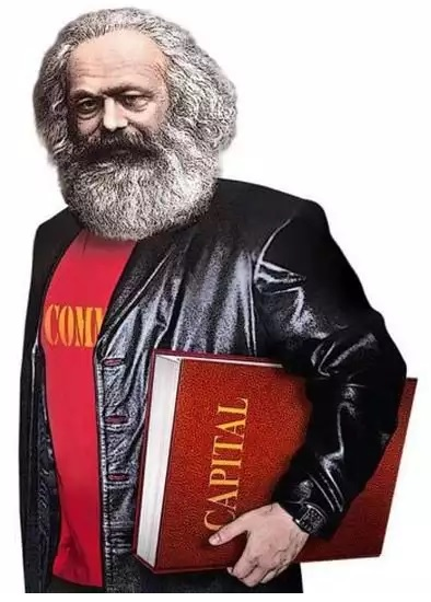 "Ads by the Communist Party of Russian Federation feature a ""cool Karl Marx"" -- their effort to ""update"" their brand for the 2016 State Duma election campaign (Image: Igor Petrygin-Rodionov)"