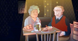If Putin at 64 were the ordinary Russian: Food and nutrition (Image: OpenRussia.org)