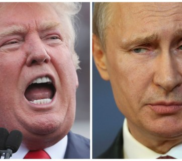Trump / Putin (Images: Getty)