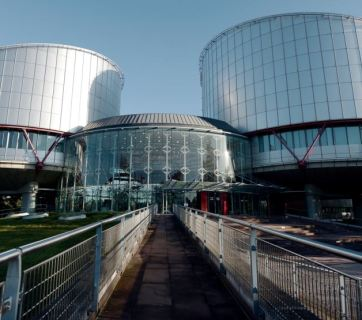 European Court of Human Rights in Strasbourg - one of the international institutions that examine claims filed by Ukraine and Russia