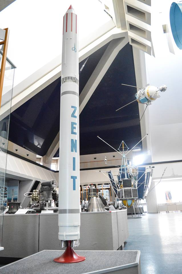 The Zenit launcher is the pride of Dnipro Photo: Olena Makarenko
