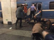 The terrorist act in the St. Petersburg metro took the lives of at least 15. Photo: pravda.ru
