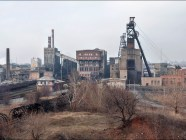 Hayevoy Coal Mine in the Russia-occupied town of Horlivka near the frontline in the Donbas, Ukraine (Image: Viktor Mácha / viktormacha.com)