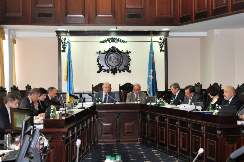 A meeting of the High Qualification Commission of Judges of Ukraine. Photo: HQCJ website