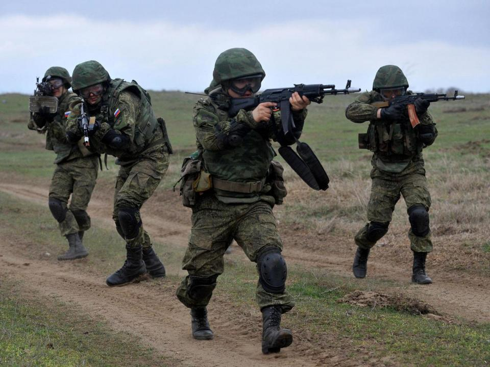 Russian military exercises have become common in eastern Europe SERGEY VENYAVSKY-AFPGetty Images