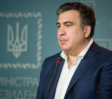 Mikheil Saakashvili. Photo: the Press Office of the President of Ukraine