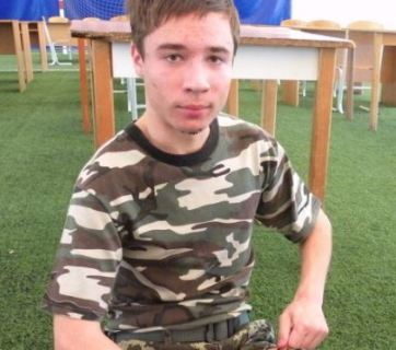 Pavlo Hryb, a teenager from Ukraine, was lured into Belarus and seized by the FSB
