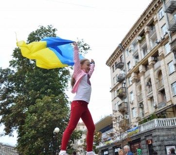 Ukraine's Independence Day in 2017 Photo: Olena Makarenko