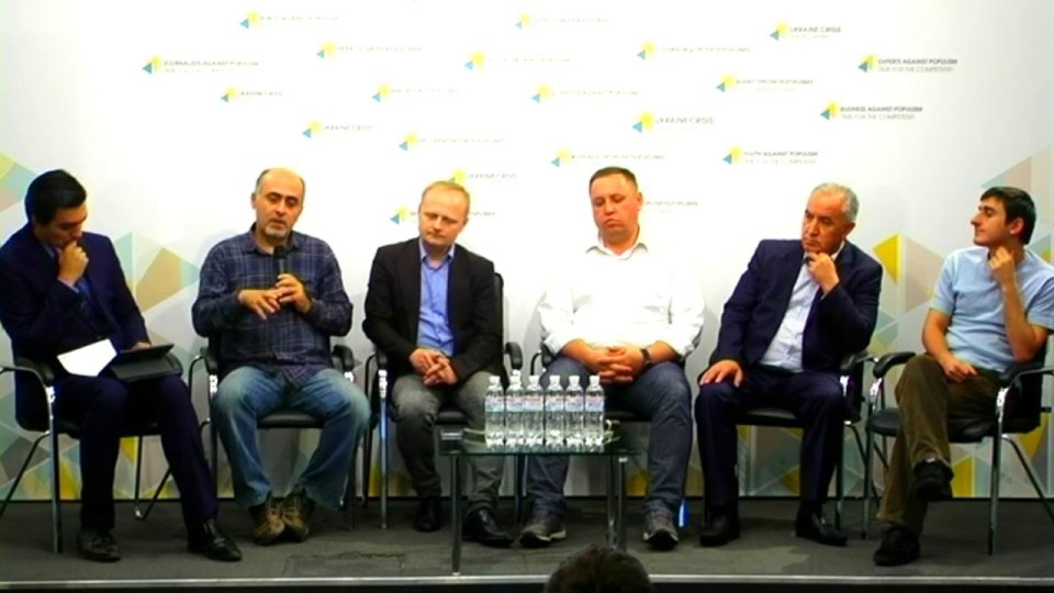 The experts in the Ukrainian Crisis Media Center