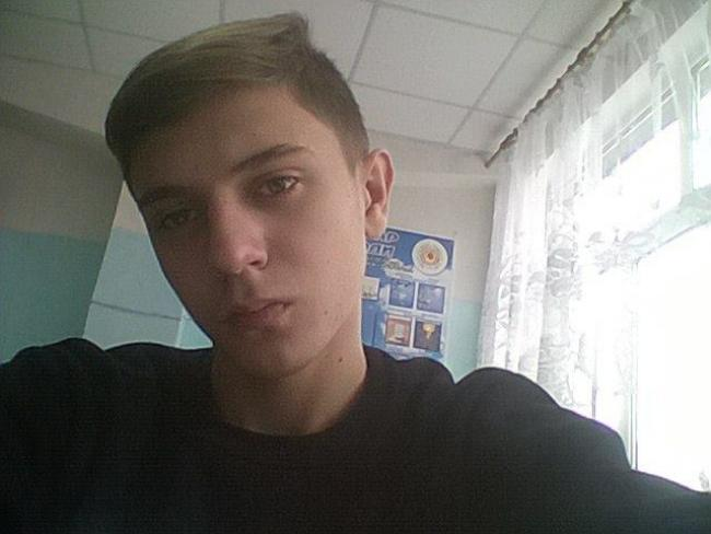 16-year-old Serhiy Shyriaiev was arrested in Luhansk for having a Ukrainian flag.
