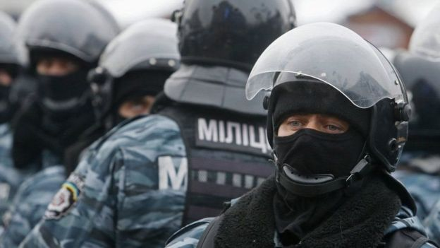 In February, 2014, the new Interior Minister Arsen Avakov liquidated the special operations unit Berkut