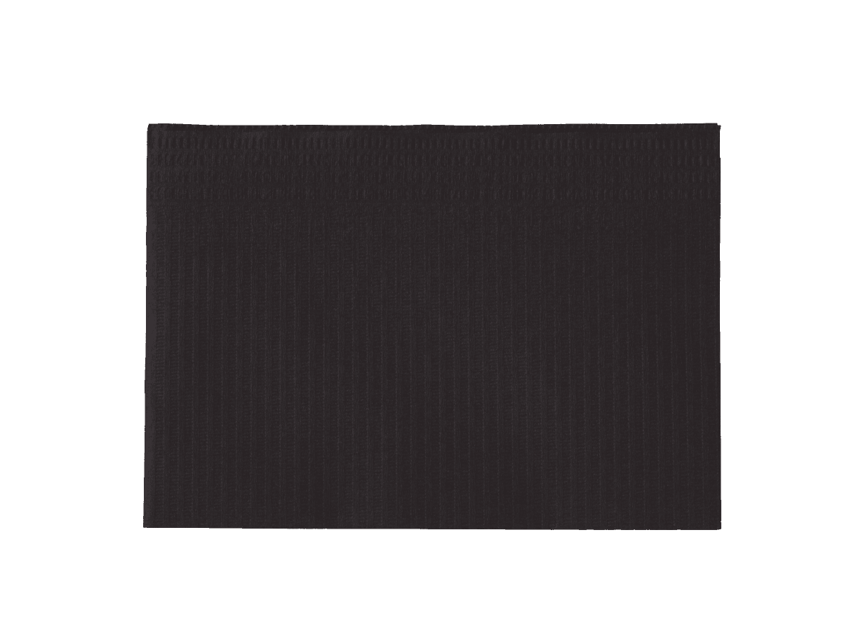 Servietten Schwarz Monodark Patientenservietten Towel Up Schwarz