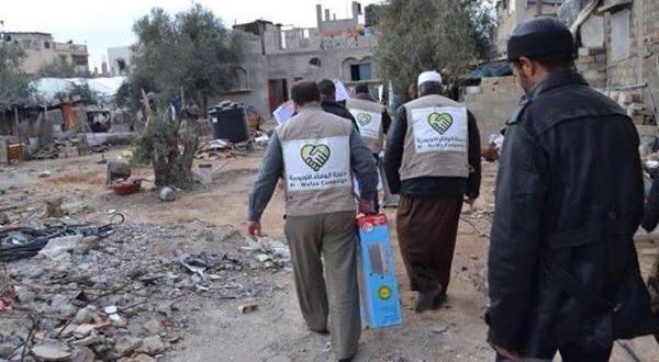 معاً لشتاء دافىء – توزيع المدافئ والبطانيات في غزة