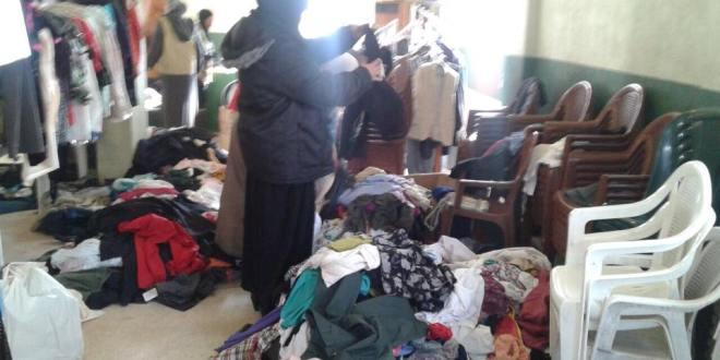 معاً لشتاء دافىء – توزيع كميات من الملابس الشتوية – لبنان