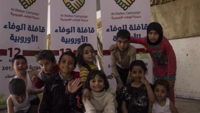 Photo of وصول وفد الحملة الى الاراضي السورية