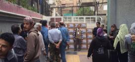 القافلة الرابعة عشرة إلى سورية – الوفاء الأوروبية تطرق أبواب مخيم اليرموك وتقدم المساعدات للاجئين