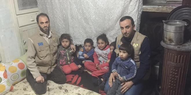 الوفاء الأوروبية تصل كيليس وغازي عنتاب وتقدم مساعدات اغاثية للاهالي