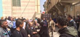 الوفاء تختتم القافلة الرابعة عشرة إلى سورية بزيارة مخيم خان دنون الفلسطيني