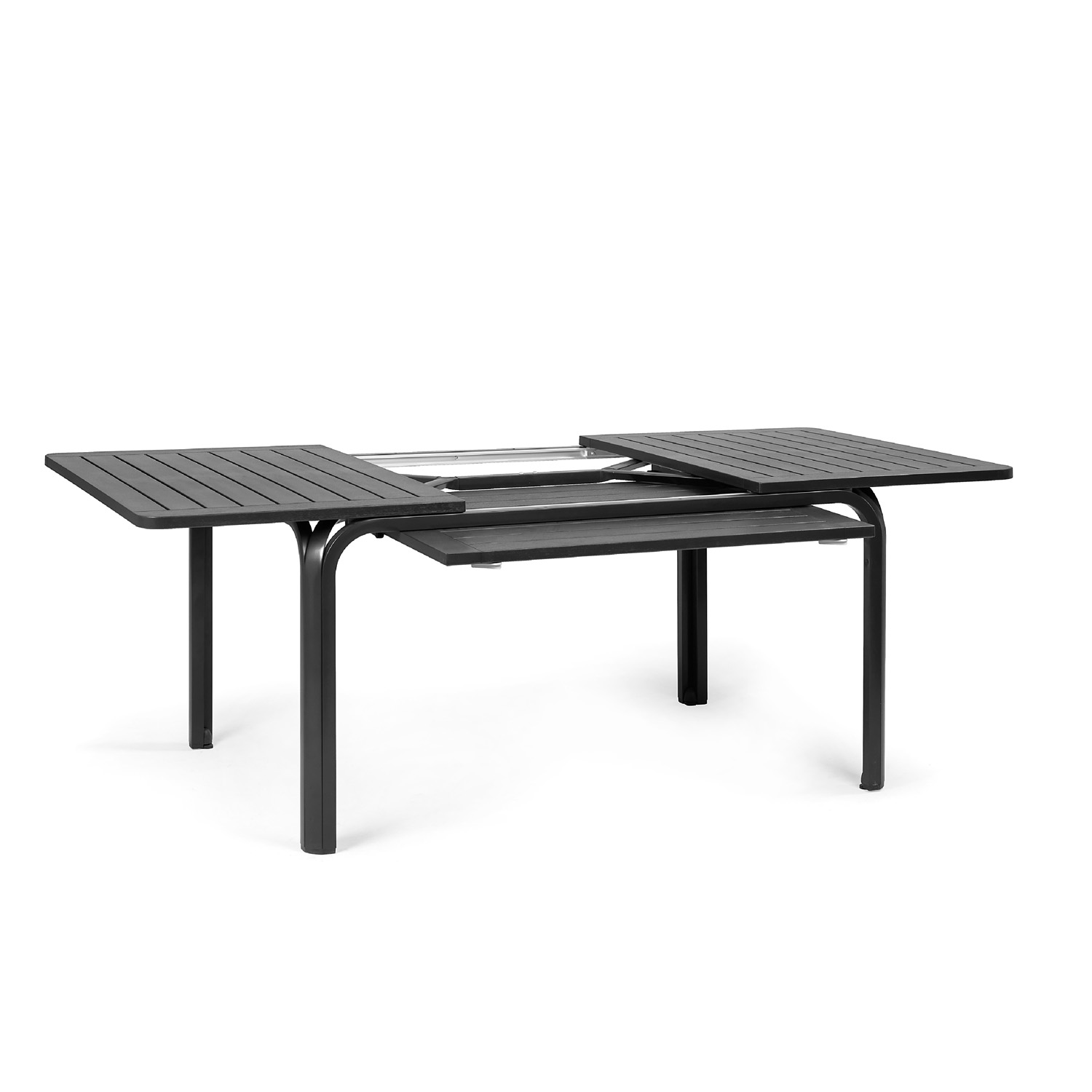 Table Extensible 90x90 Alloro Table - Anthracite - Europa Leisure (uk)