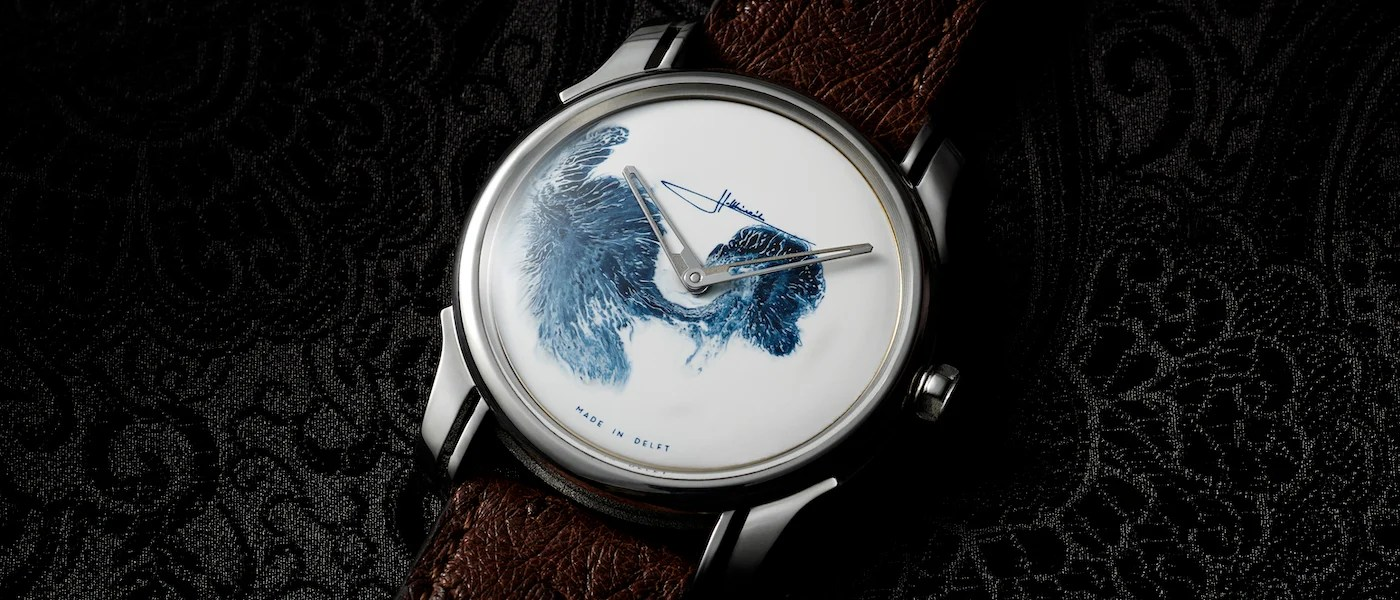 Delft Brand Holthinrichs A Watch Wonder From Delft