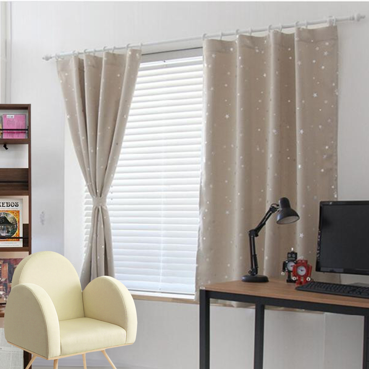 Curtains Blinds Accessories Window Blackout Curtains Room Thermal Insulated Kids Boy Girls Bedroom Decor Uk Home Furniture Diy Mhg Co Ke