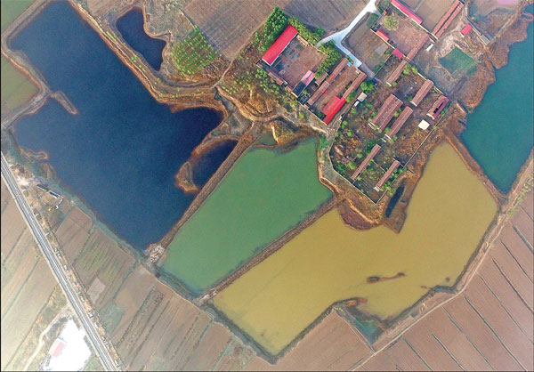 Car Companies Vision And Mission The Sewage In A Village Of Tianjin Is Different In Colors
