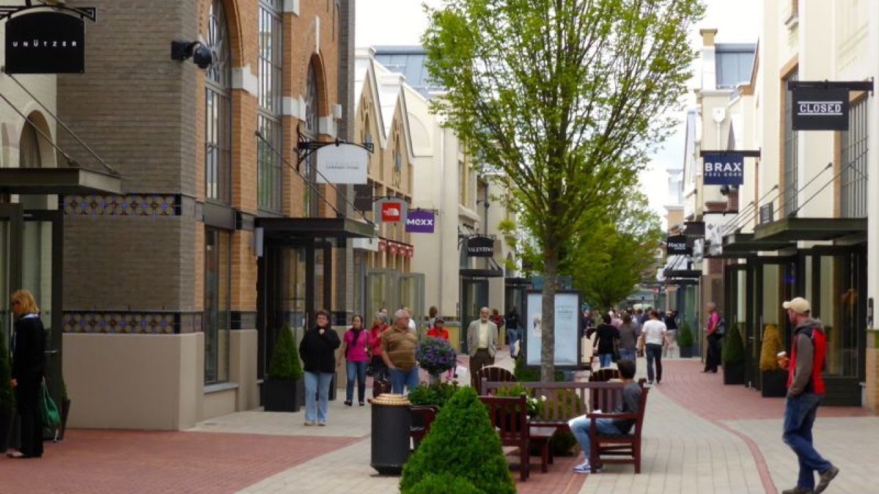 Save At Ingolstadt Outlet Shopping Village Near Munich In Bavaria