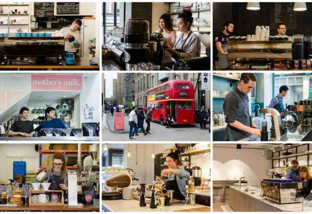 Speciality Coffee Guide London
