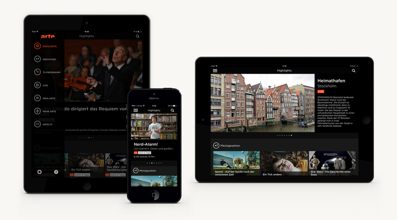 Arte Tv 7 Arte App European Design