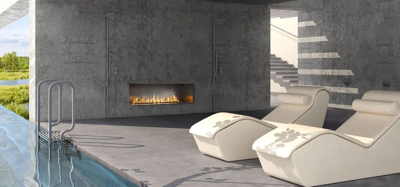 Outdoor Gas Fireplaces J Series By European Home Modern Outdoor Gas Fireplace Linear
