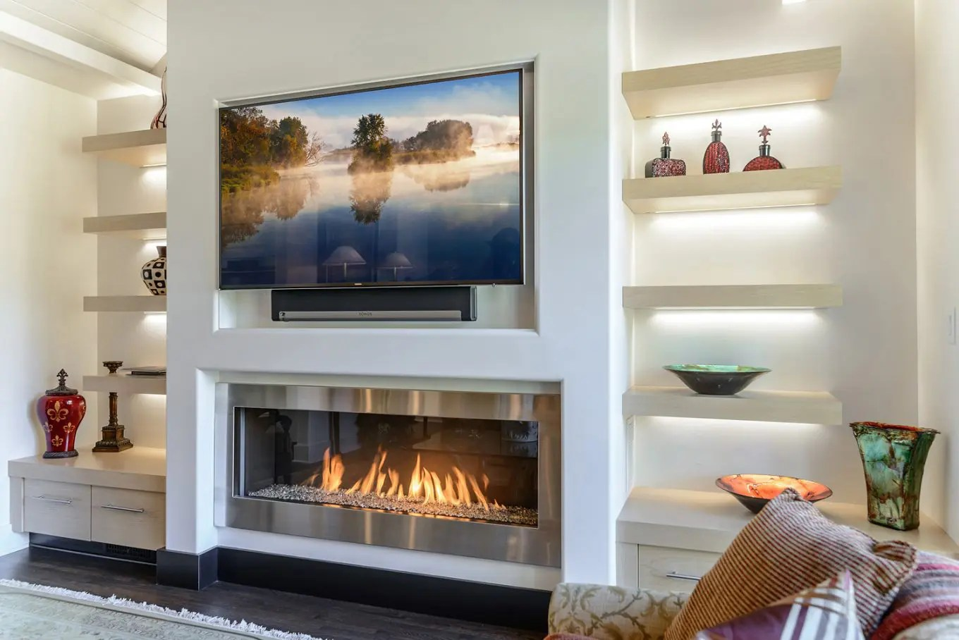 How To Operate A Fireplace Ask The Experts Should You Install A Tv Over A Fireplace