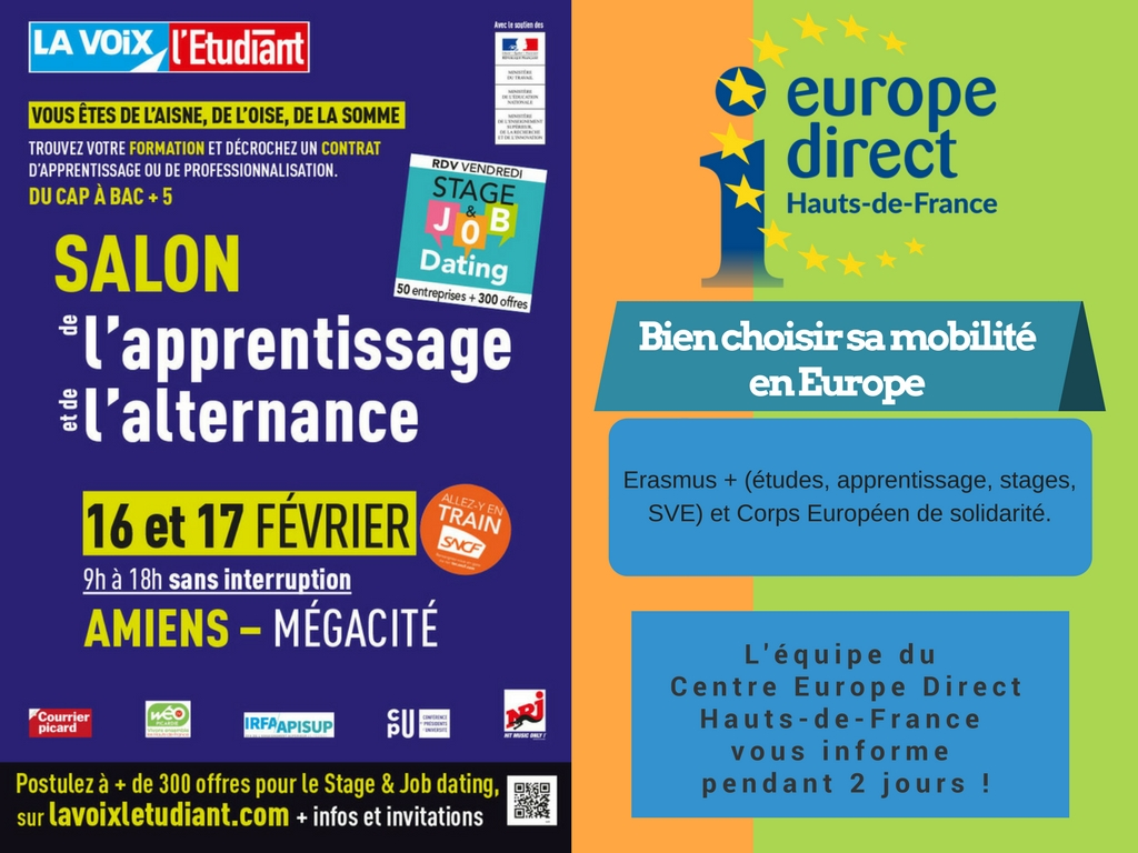 Salon De L Alternance Rdv Avec L équipe D Europe Direct Hauts De France Au Salon De L