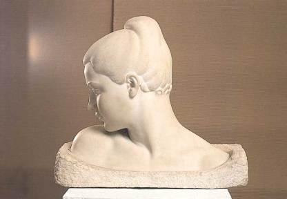 Woman Thinking by Pavlopoulos Nikolas
