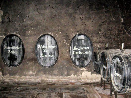 Historic Wine Barrels