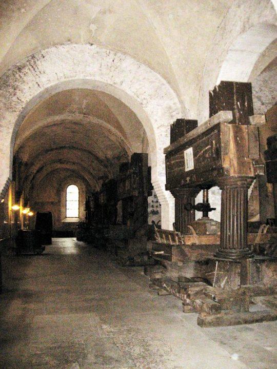 Medieval Wine Presses