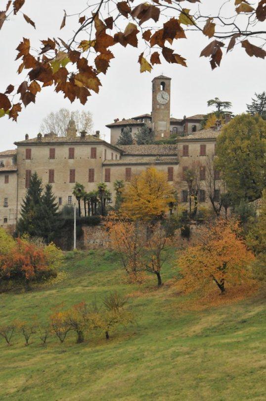 Hilltop town in the Piedmont
