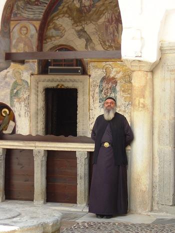 Monastery Monk - by alex-kuruz