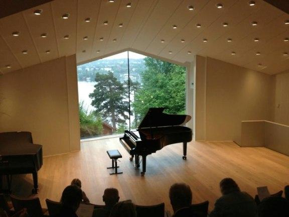 Concert hall at Troldhaugen