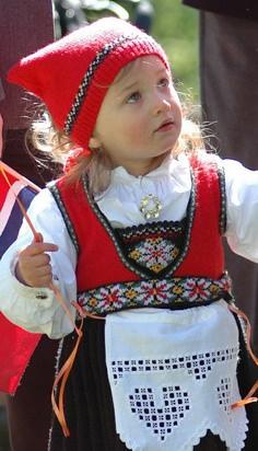 Traditional Norwegian needlework