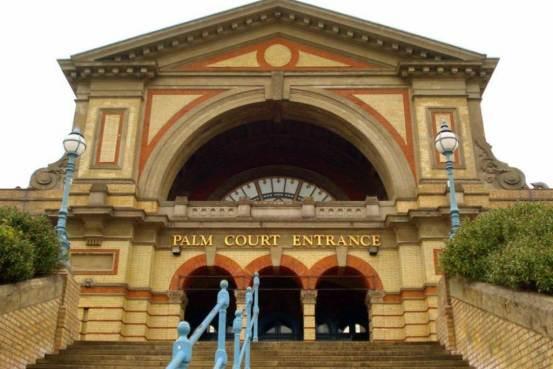 Palm Court Entrance