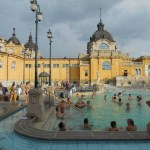 The Szecheyni Baths are classic and good for half a day