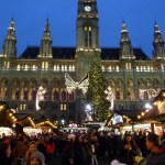 The Vienna Christmas Market set in front of the Vienna City Hall