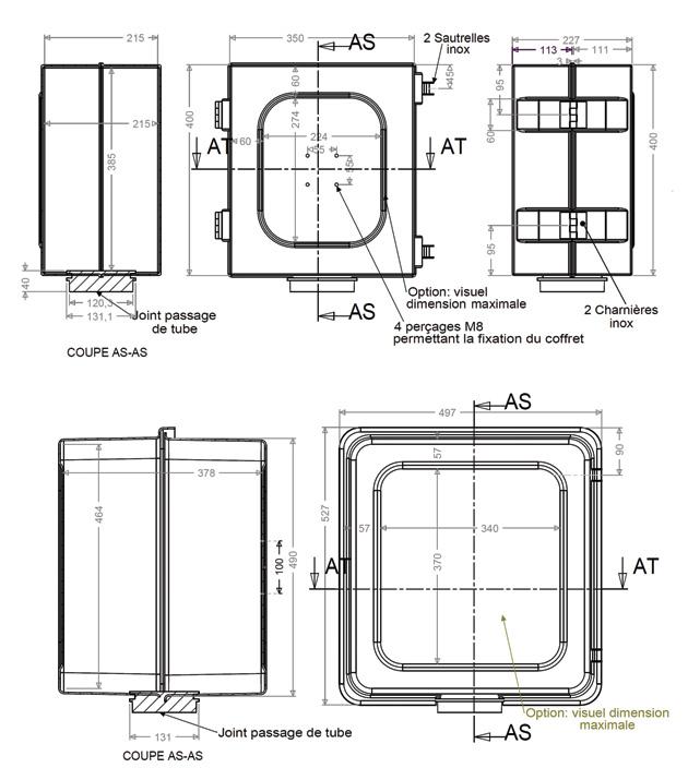 armoires coffrets polyester coffrets instrumentation plan cdc