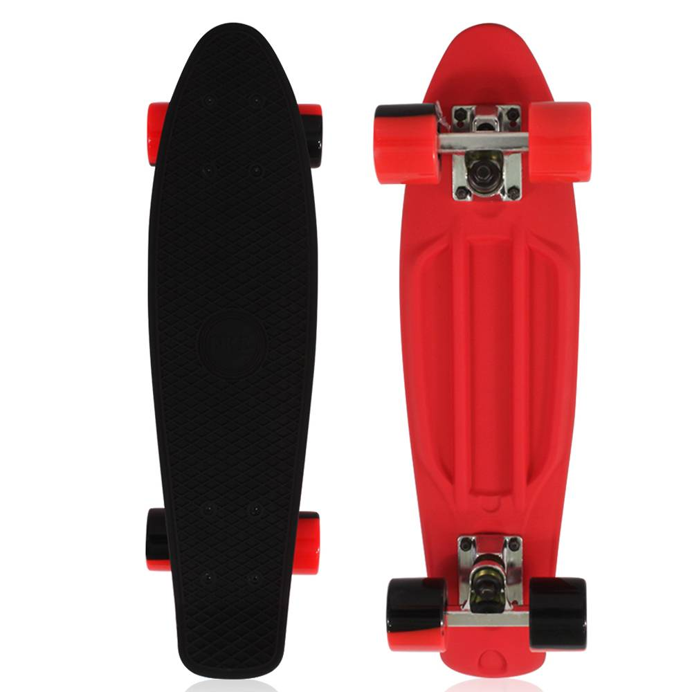 Side By Side Schmal Nkd Dark Side Deluxe Skateboard 22