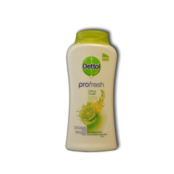 Afvalbakken Keuken Dettol Profresh Douchegel 250 Ml Citrus Crush