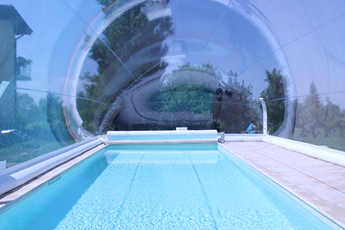 Bulle Gonflable Piscine L'abri-bulle Gonflable Pour Piscine | Eurospapoolnews.com
